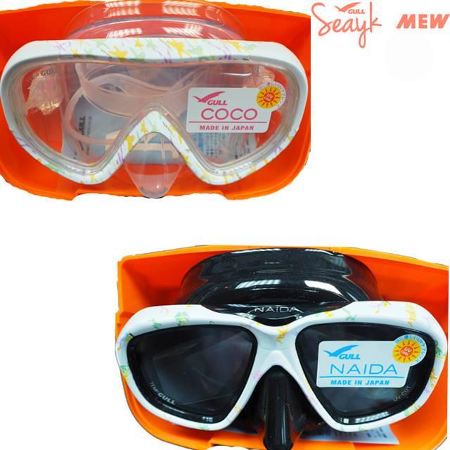 「SEAYK」のミューフィン、ネイダシリコンマスク、ココシリコンマスク